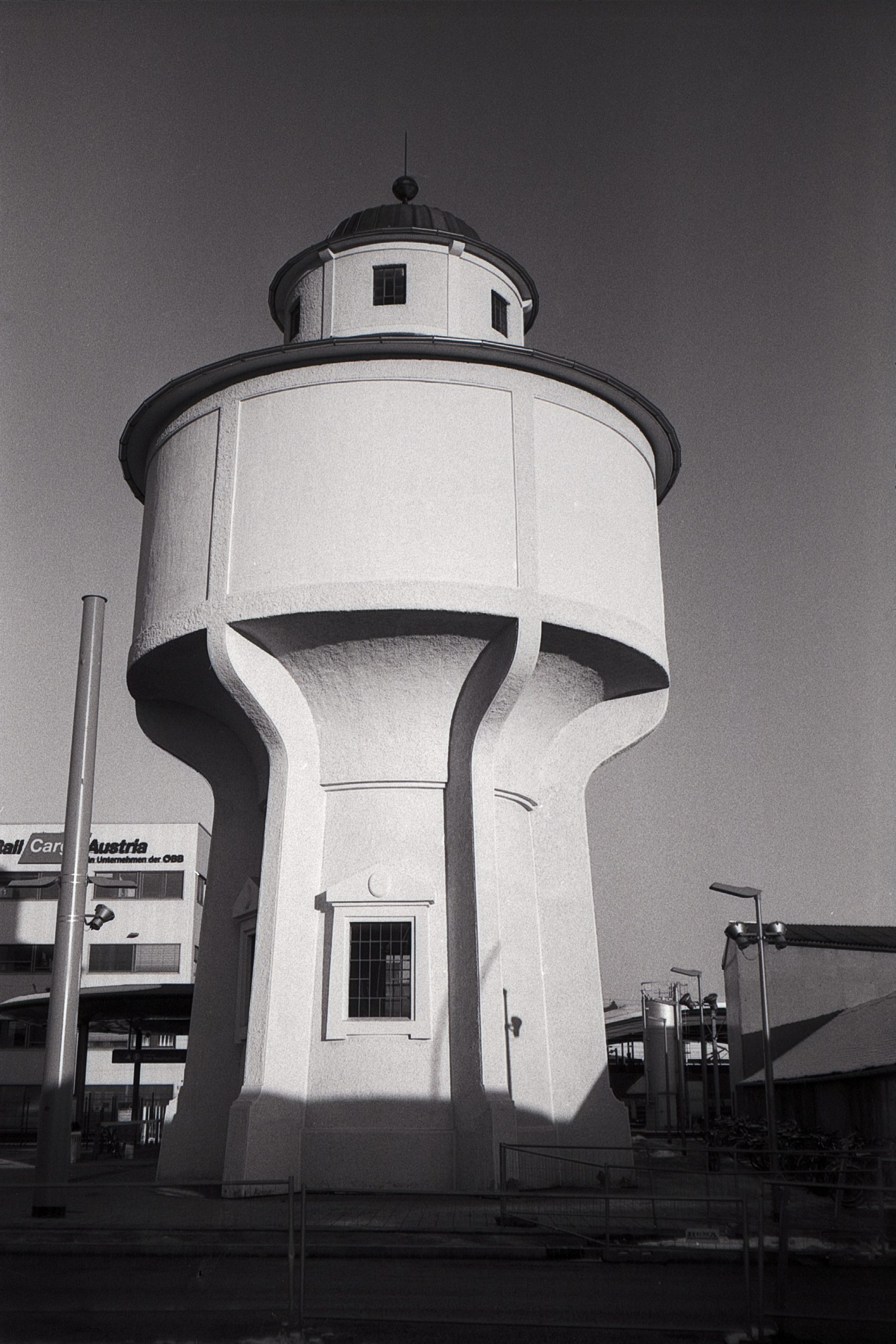 #017 Film per day – The old water tower, Bahnhof Graz