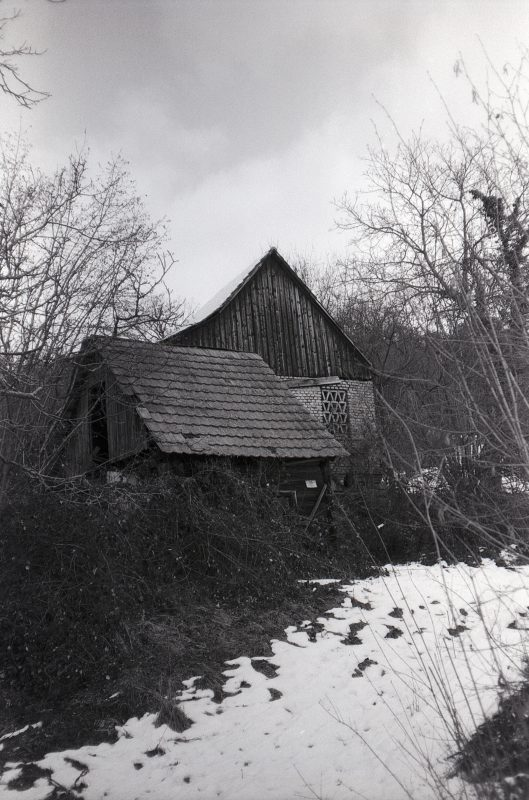 #024 Film per day – Falling apart barn