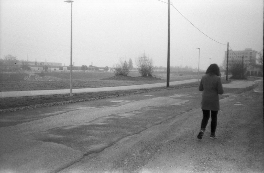 #036 Walk along the Mur in the fog