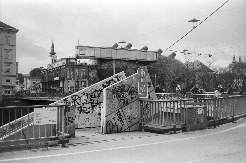 #059 Stadt Brücke Stiege, Graz