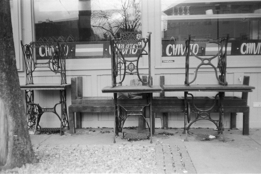 #062 Tables at Lendplatz, Graz