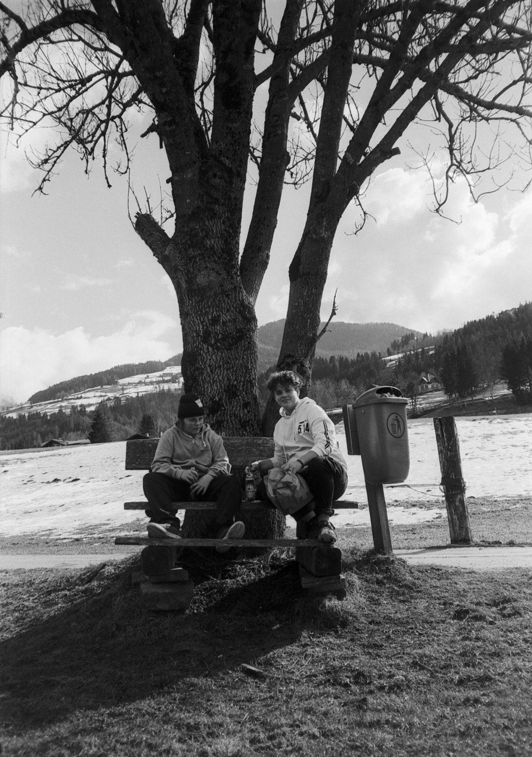 #083 Jake and Jesse Mackie takeout, Weissenbach im Ennstal