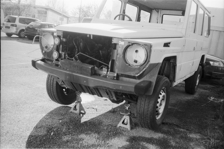 #101 Mercedes G Repair, Puntigam