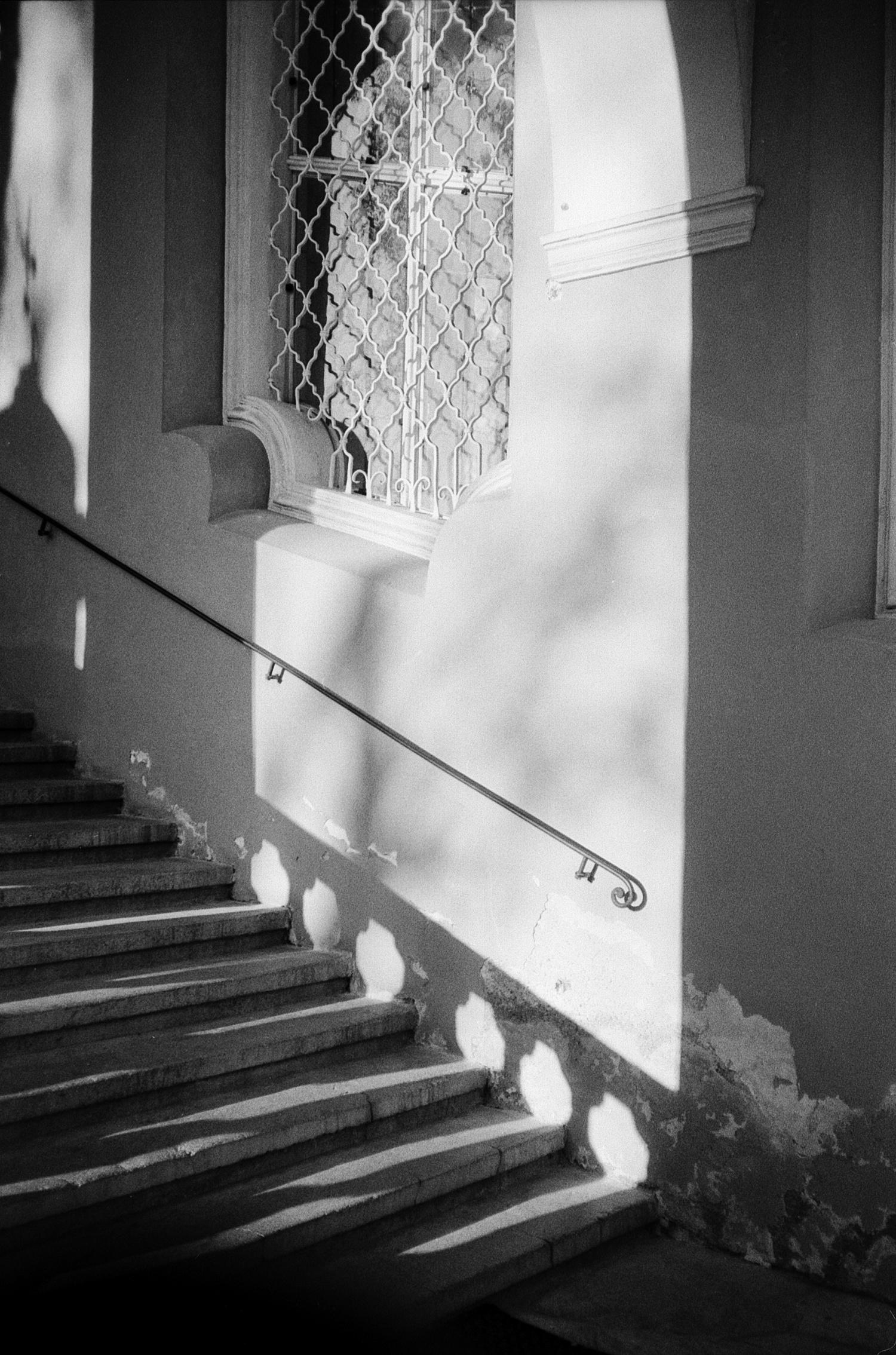#107 Light on the staircase, Kalvarienberg Graz
