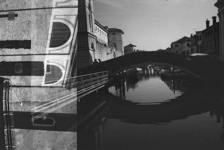#139 Bridge Double Exposure - Chioggia, Italy