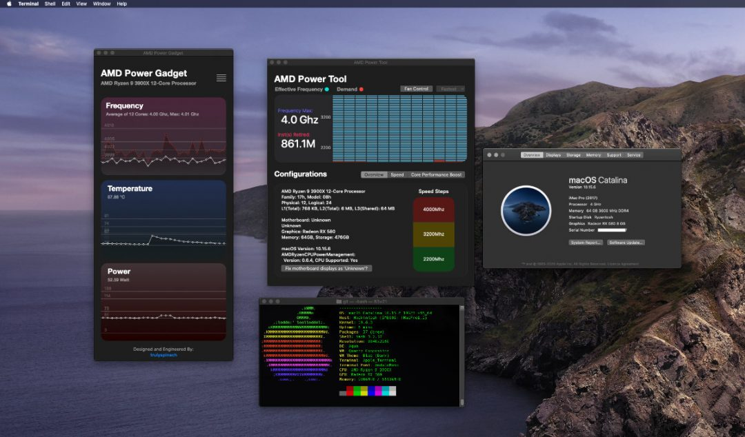 AMD Ryzentosh Hackintosh on Catalina