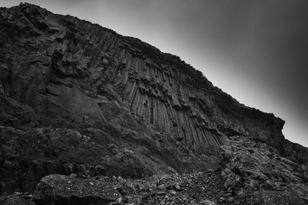 Basalt Face, Loch Buie