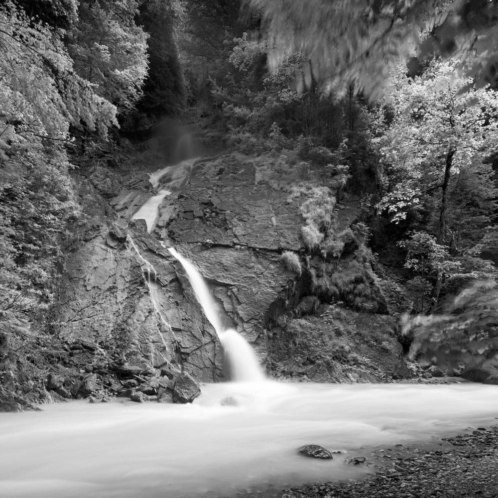 Bürserschlucht Wasserfall