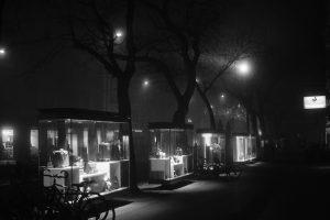 Night of fog, Graz - Herrengasse