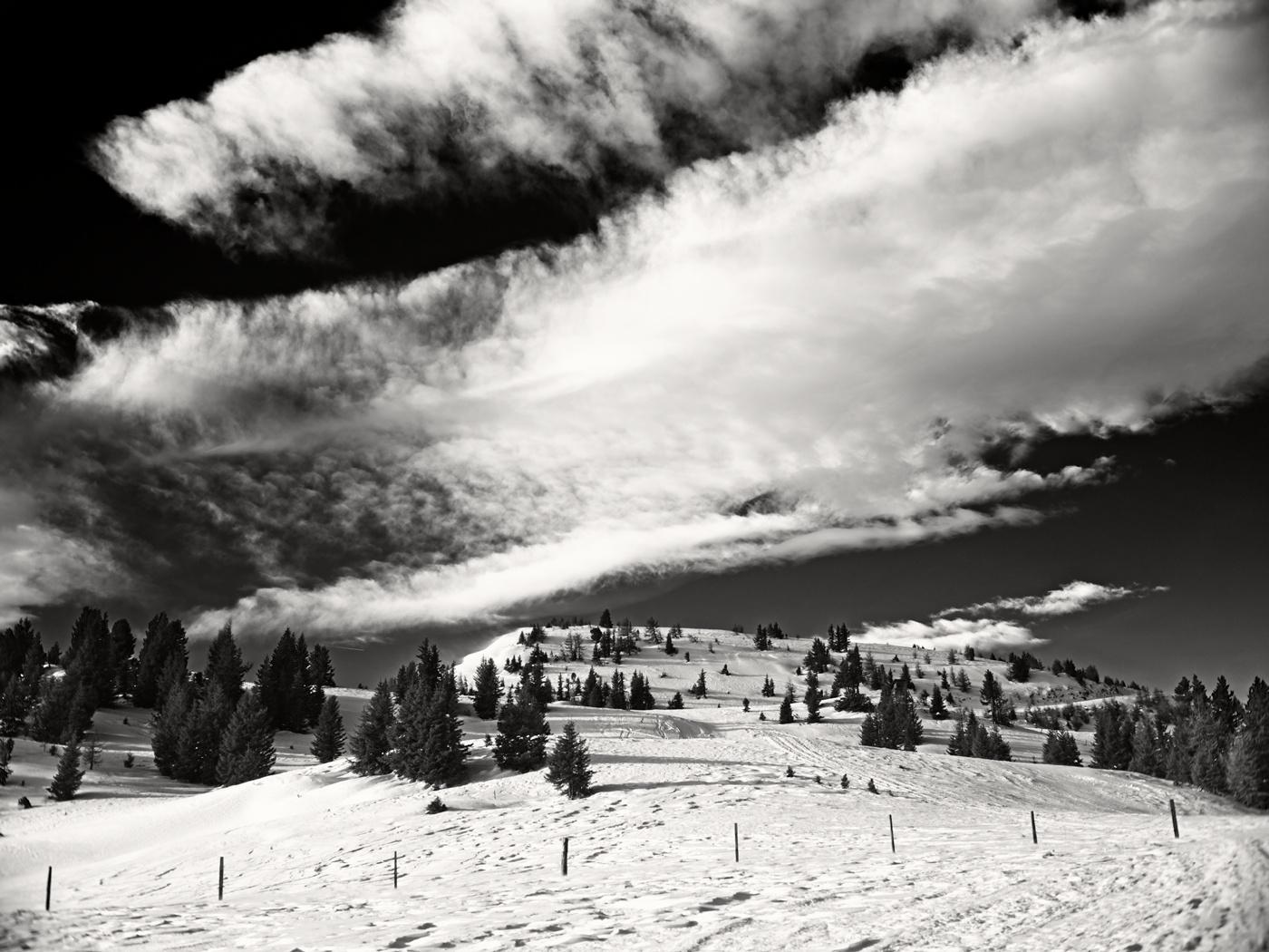 Skitour Frauenalpe Murau - Fujifilm GFX50 with Yashinon 50mm ƒ1/9