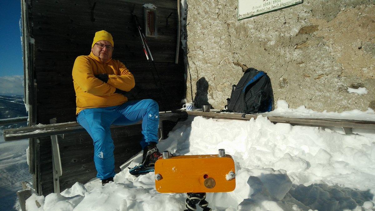 Pinhole Setup - Frauenalpe, Austria - Pinhole with Kosmos Foto Mono