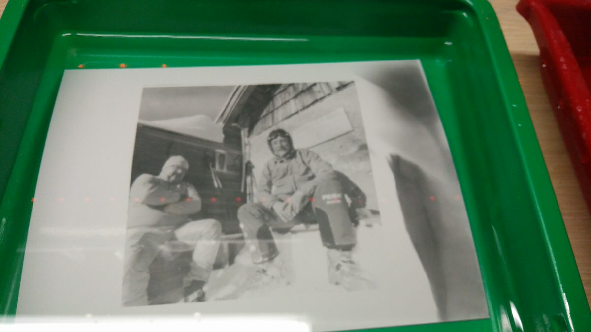 Prints from the darkroom - Frauenalpe, Austria - Pinhole with Kosmos Foto Mono