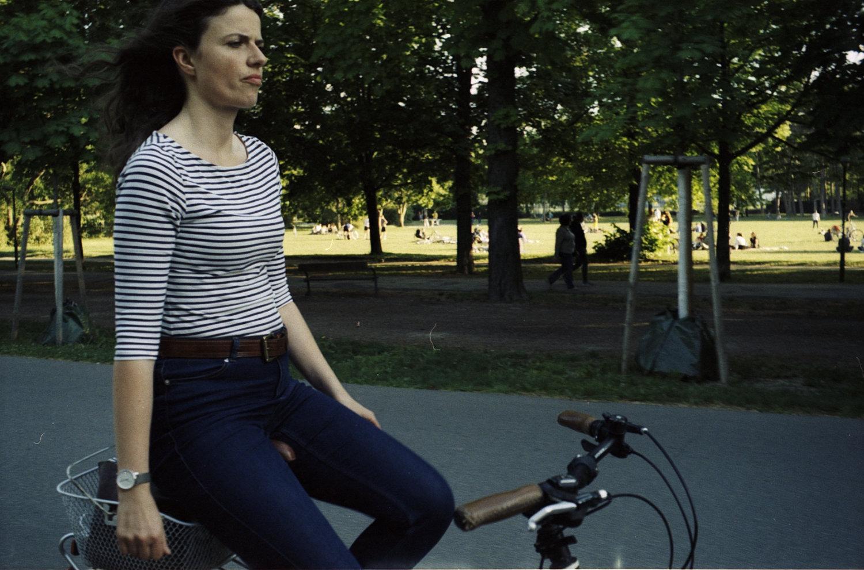 Cycling in Vienna - Zeiss Ikon Contaflex Super
