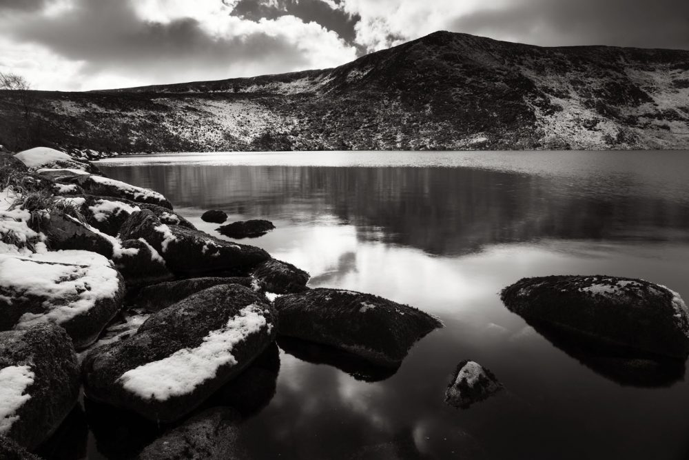 Lower Lough Bray in Winter #1