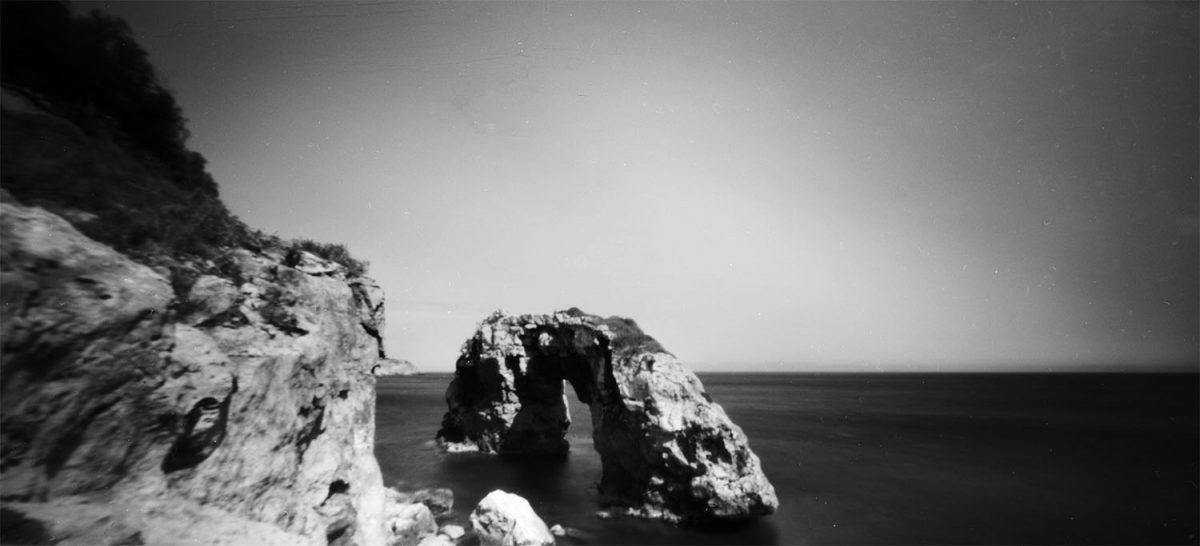 Nautral Arch Side Shot Pinhole 6x12 Fujifilm Acros