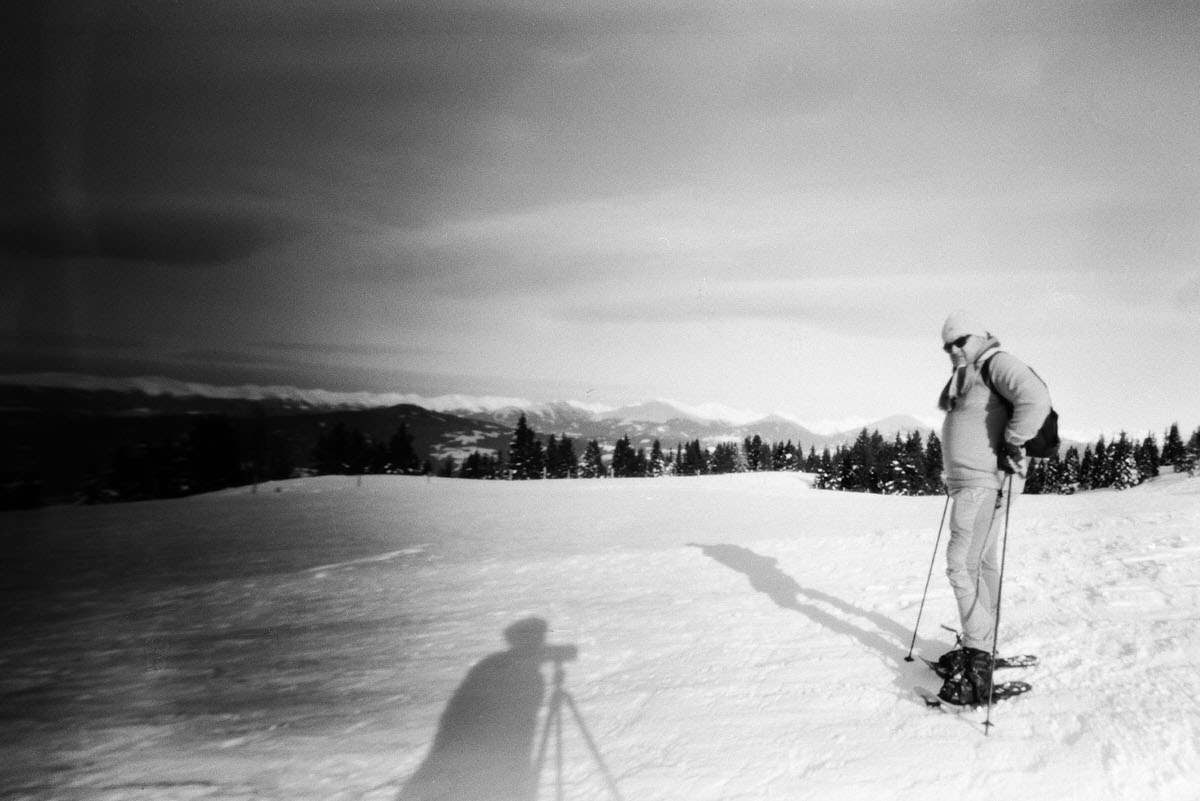 Frauenalpe, Austria - Pinhole with Kosmos Foto Mono developed with Rodinal