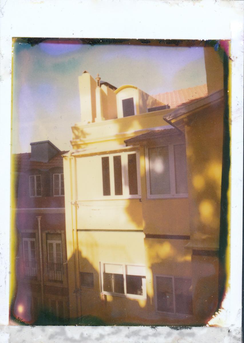 Lisbon home - One Instant, Polaroid Land Camera 100