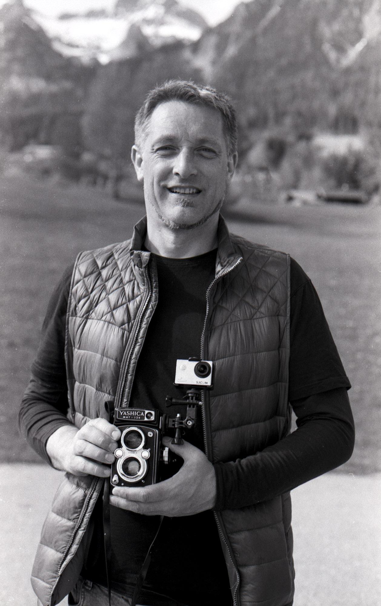 Me - Canon EOS 600 Kodak Tri-X 400TX #23