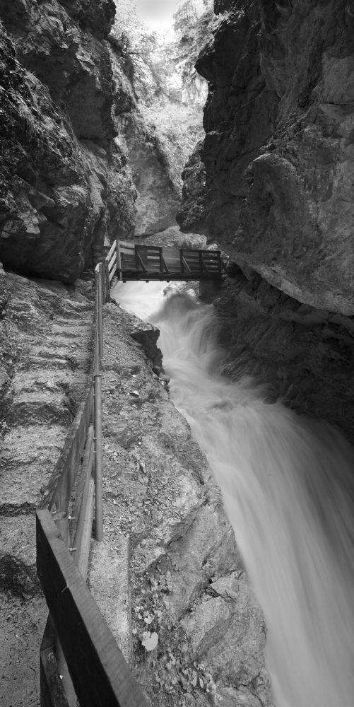 Rosengartenschlucht Stone Steps