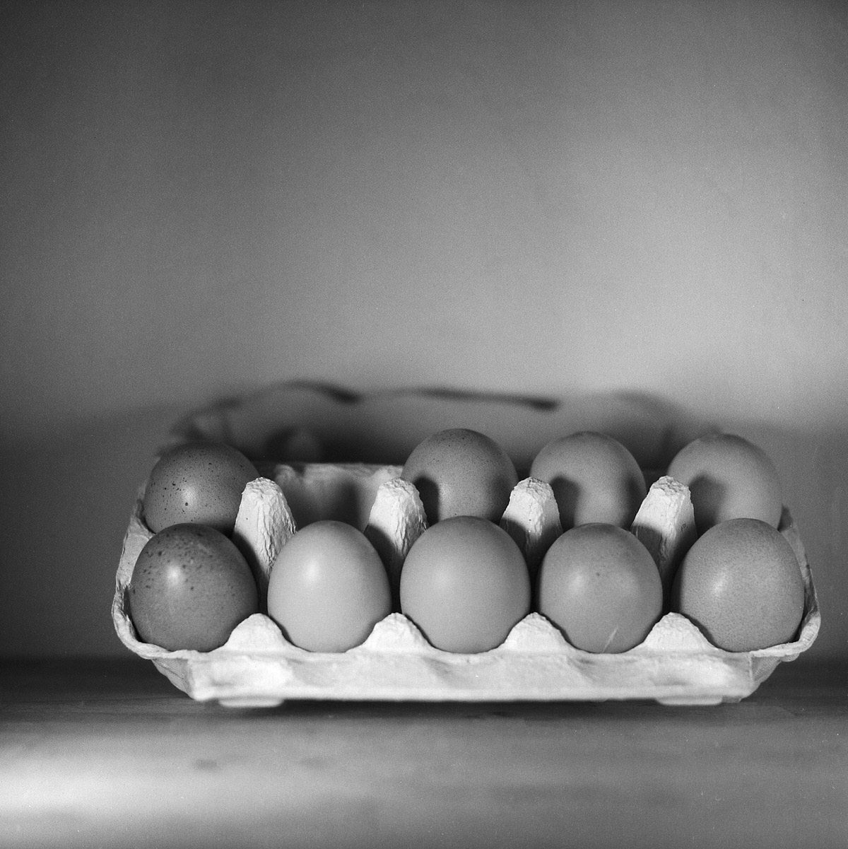 Eggs #1 - Still Life Photography | Yashica MAT124 with Fomapan