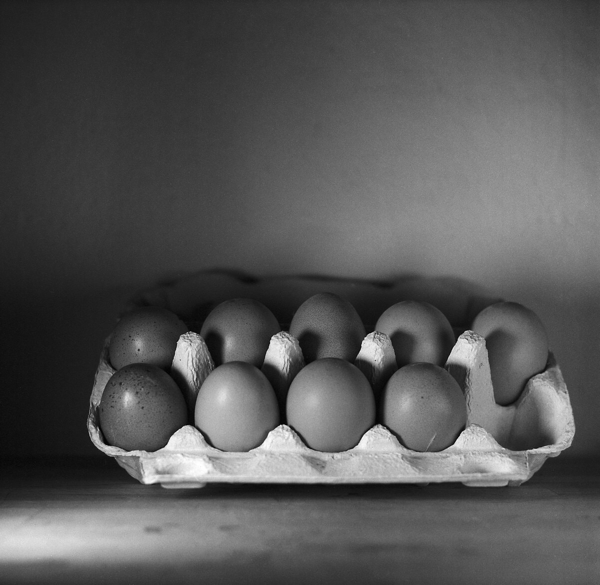 Eggs #2 - Still Life Photography | Yashica MAT124 with Fomapan