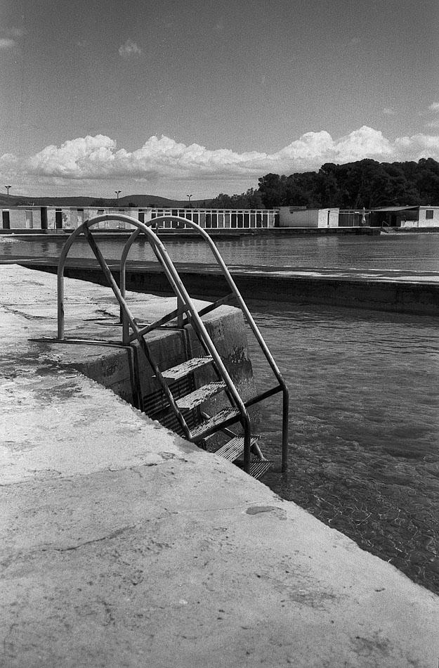 Swiming-ladder-in-Jadrida-Šibenik