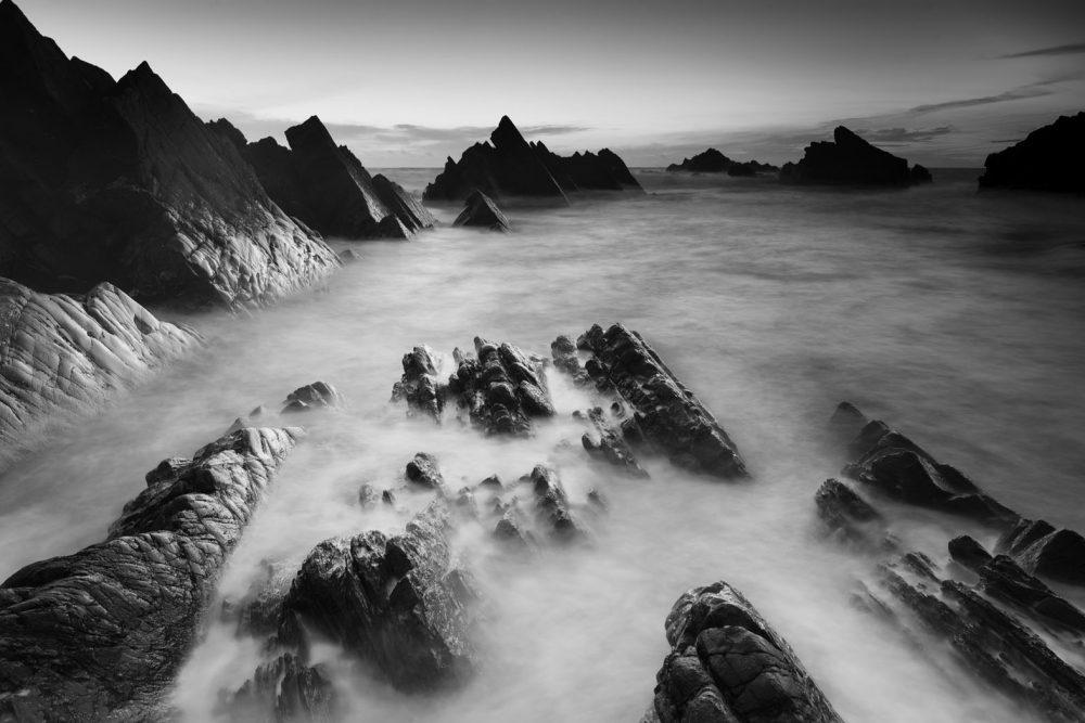 Tide Retreats, Hartland Quay