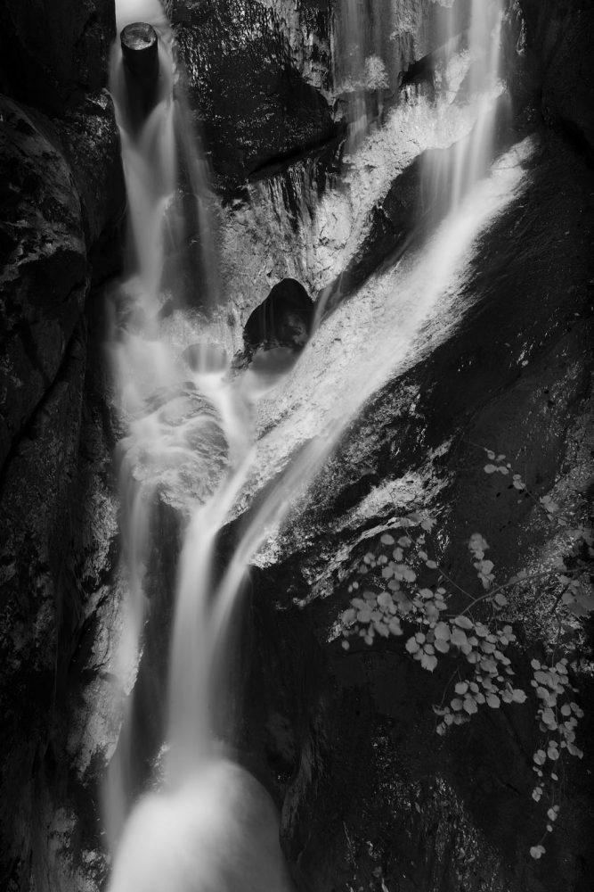 Wasserfall Detail, Kesselfall-Klamm