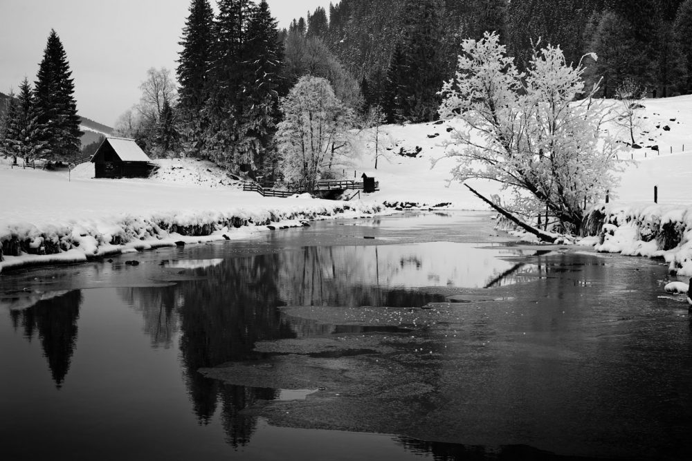 Winter river #2, Untertal