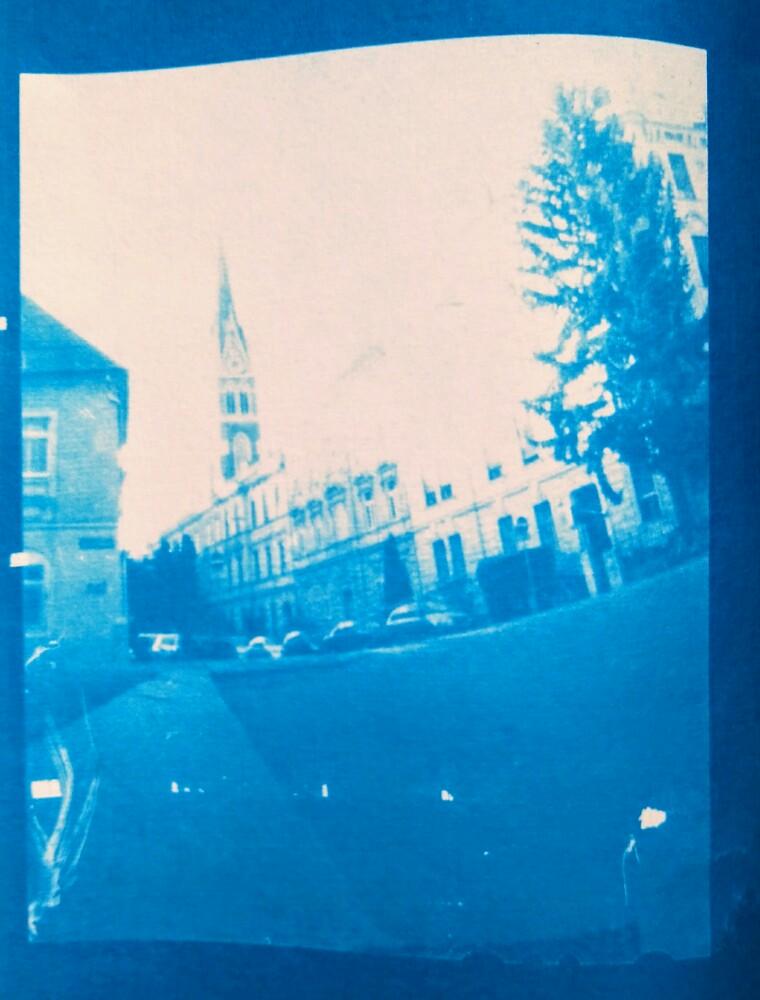 Herz Jesu Kirche, Graz - Pinhole 4x5 Negative