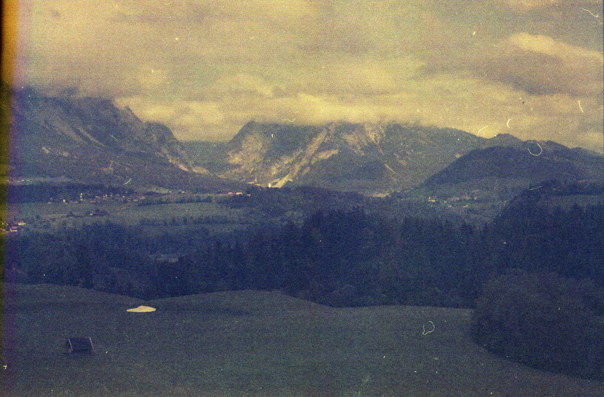 Ramsau am Dachstein - Kodacolor 400 Expired 1987, Contaflex Super #